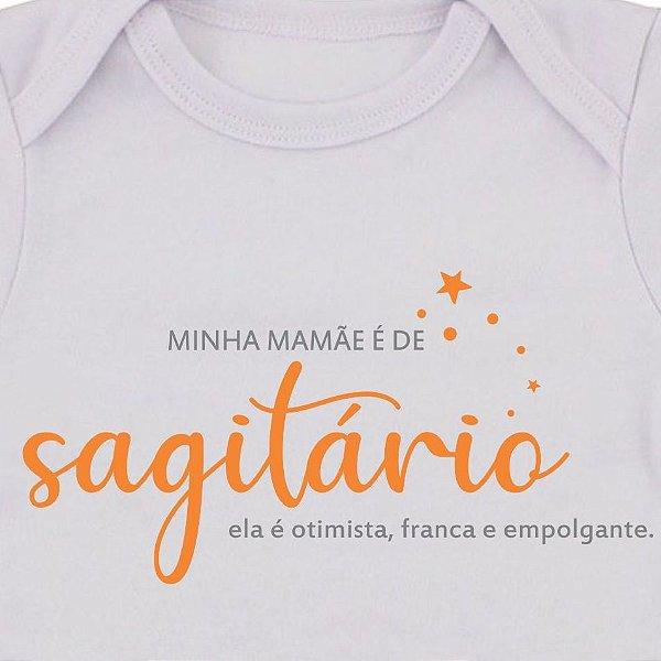 Body de Bebê Mamãe de Sagitário