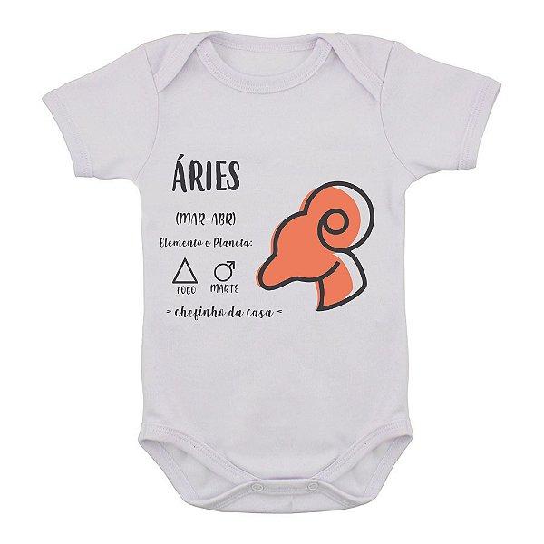 Body de Bebê - Áries