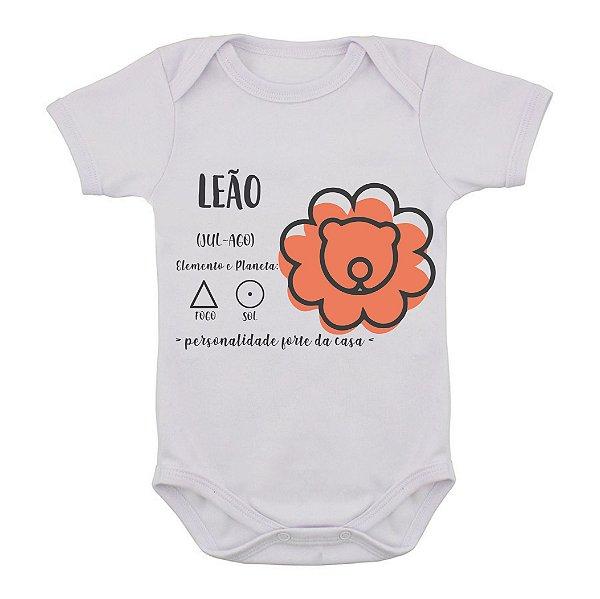 Body de Bebê - Leão