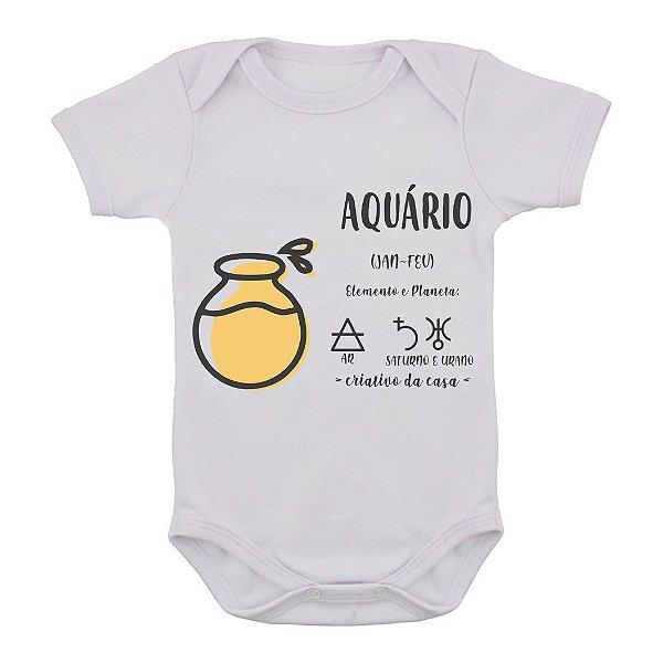 Body de Bebê - Aquário