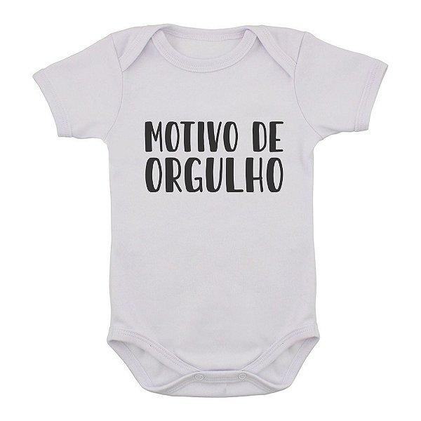 Body de Bebê Motivo de Orgulho do Papai