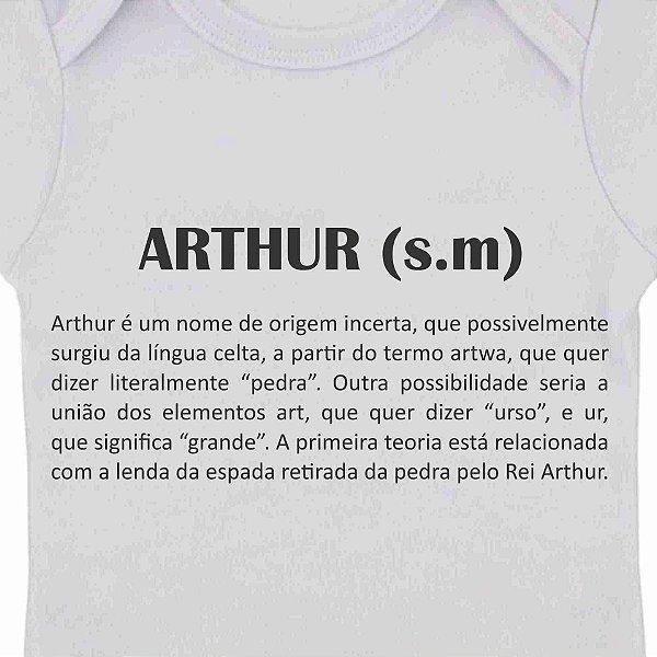 Camiseta Infantil Significado Nome Dicionário