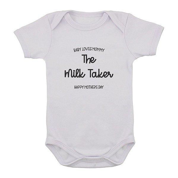 Body de Bebê Milk Taker
