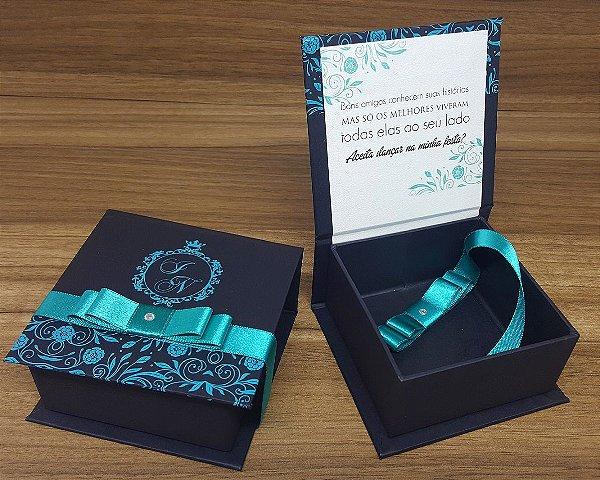 Convite Box 15 anos - 30un.
