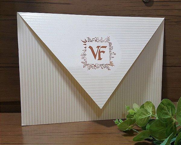 Convite Casamento Bico