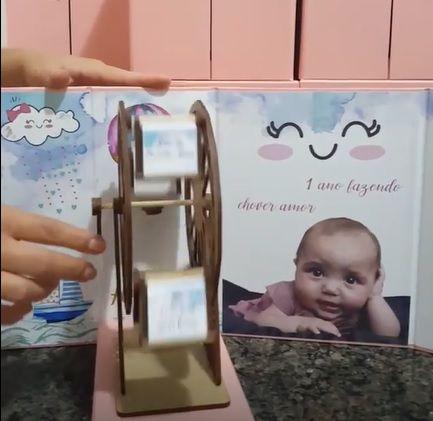 Convite Infantil Carrossel