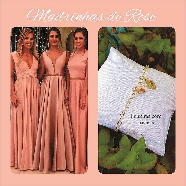 Pulseira Madrinha Rose