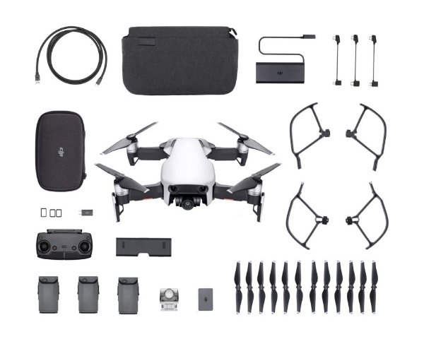 Drone Dji Mavic Air Artic White Fly More Combo
