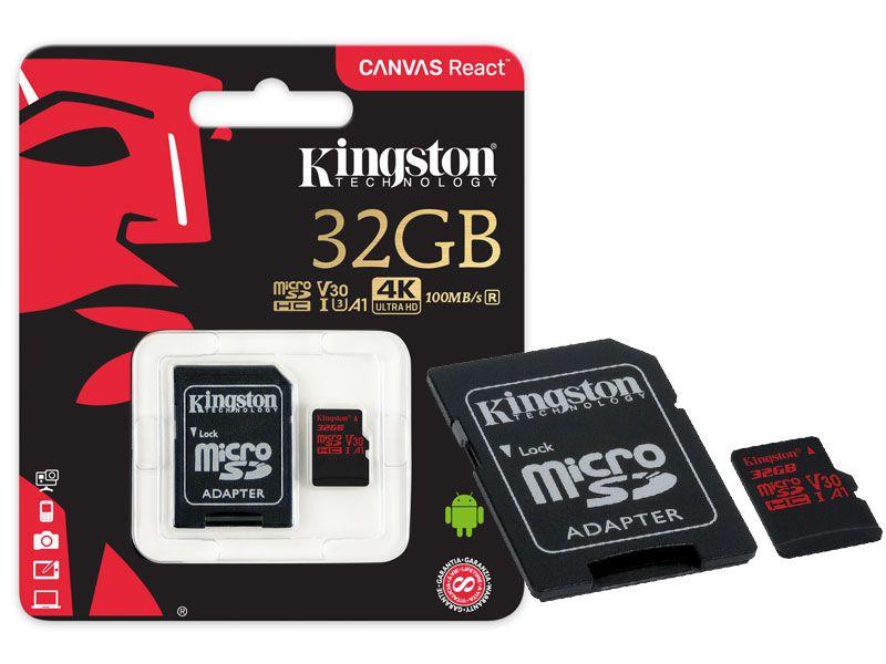 Cartão de Memoria Classe 10 Kingston SDCR/32GB