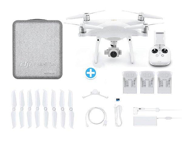 Drone Dji Phantom 4 Pro V2.0 Com 2 Baterias Extras