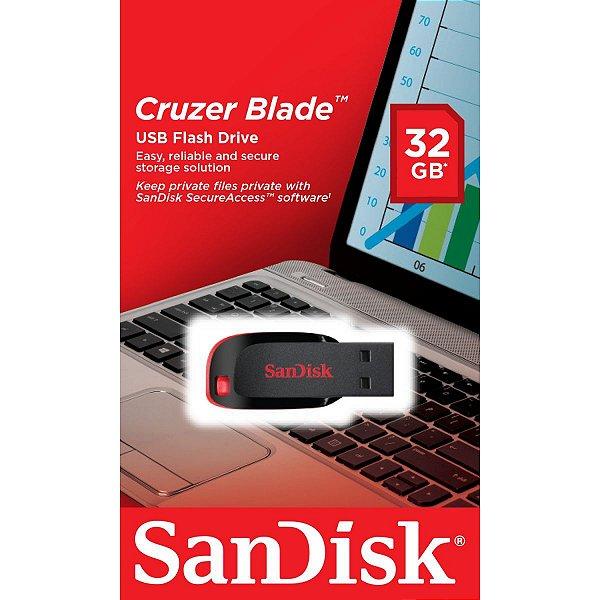 PEN DRIVE CRUZER BLADE 32 GB