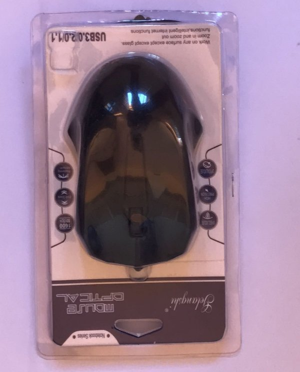 MOUSE USB PRETO OPTICON