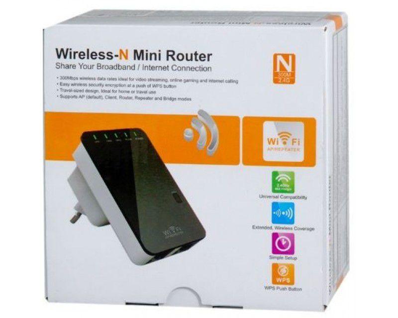 Repetidor Wifi Wireless-n Mini Router 600 Mpbs Tomada