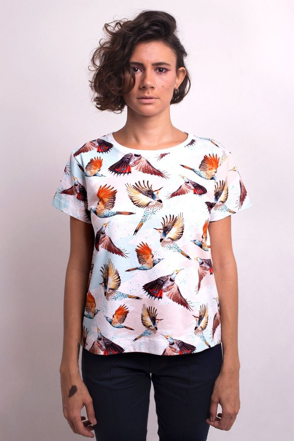 Camiseta Celeste Colaptes