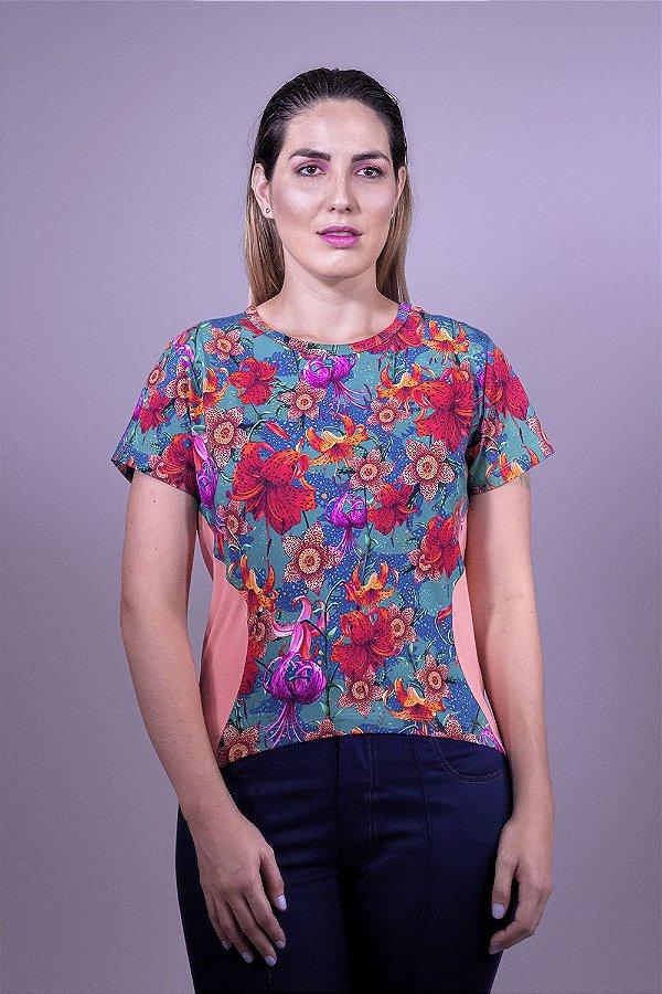 Camiseta Coral Lilium