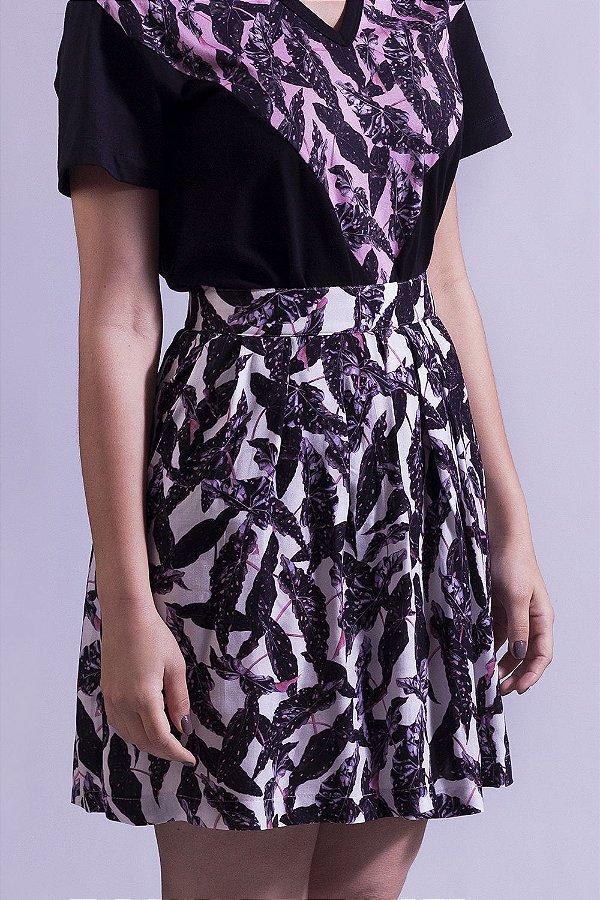 Shorts-Saia Begonia Albus