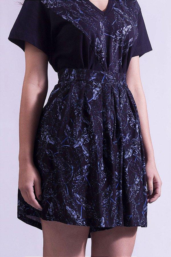 Shorts-Saia Begonia Onix