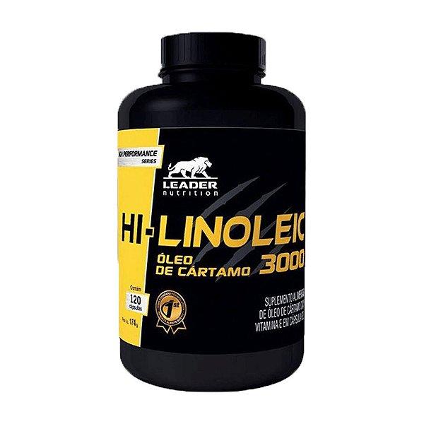 HI-LINOLEIC 3000 (120 CAPS) - LEADER NUTRITION