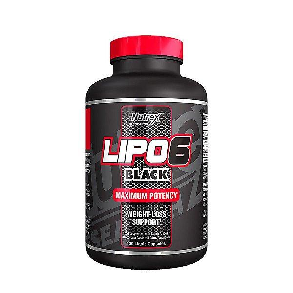 Lipo 6 Black - Termogênico - 60 Cápsula - Nutrex