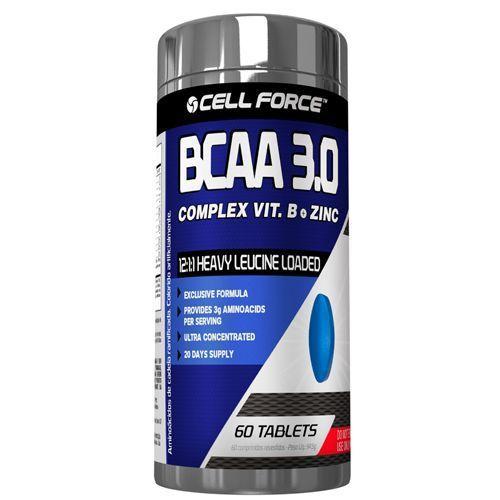 Bcaa 3.0 Complex Vit.B + Zinc 60 Tabletes
