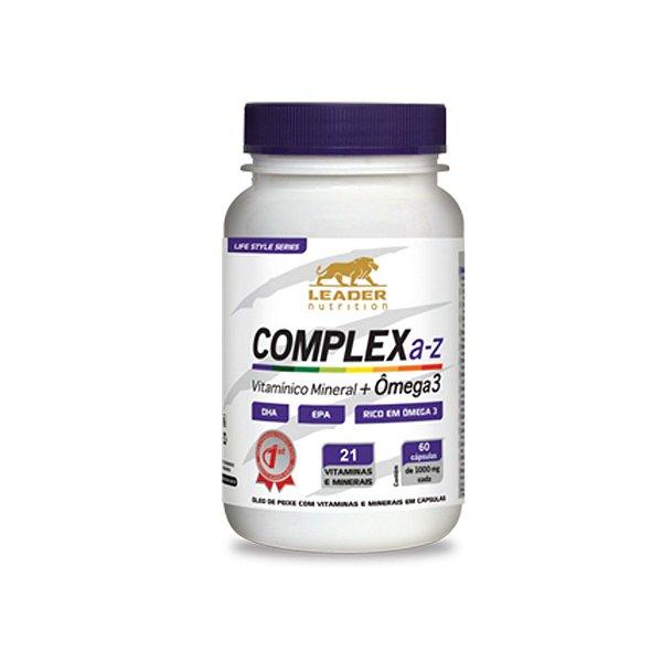 Complex A-Z 60 cápsulas - Leader Nutrition