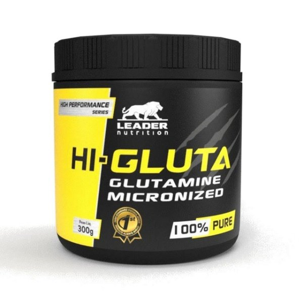 Hi-Gluta Glutamine Micronized (300g) - Leader Nutrition