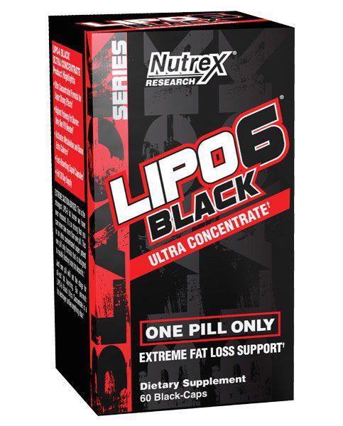 Lipo 6 Black Ultra Concentrado 60 cápsulas – Nutrex