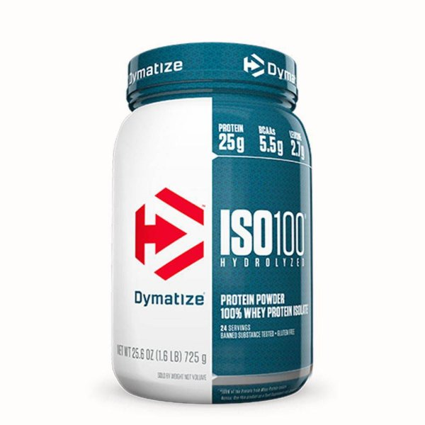 Iso 100 Hydrolyzed 100%  725g - Dymatize