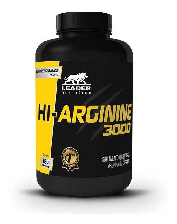Hi-Arginine 3000 - 180Caps. - Leader Nutritrion