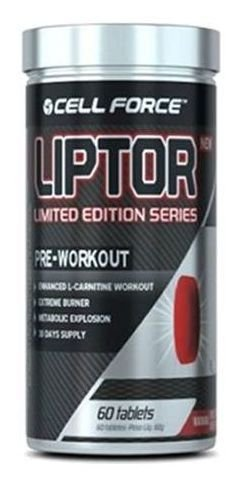 Liptor Pre-Workout 60 tabletes Cell Force