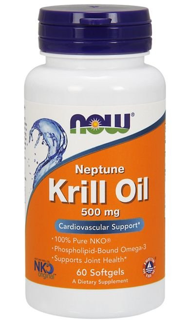 Krill Oil (60 softgels) - Now Sports