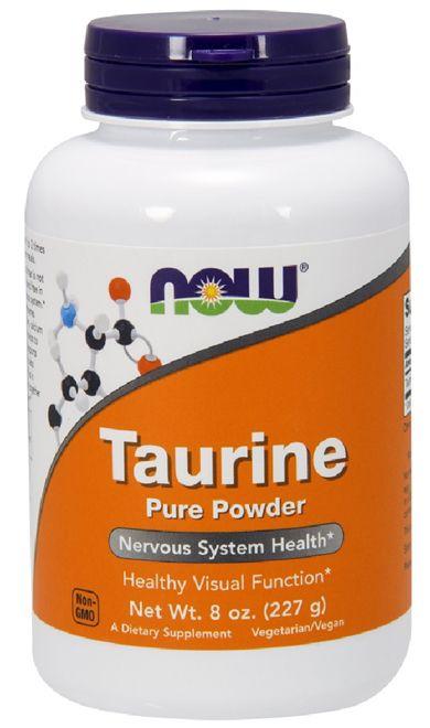 Taurine Powder (227g) - Now Sports