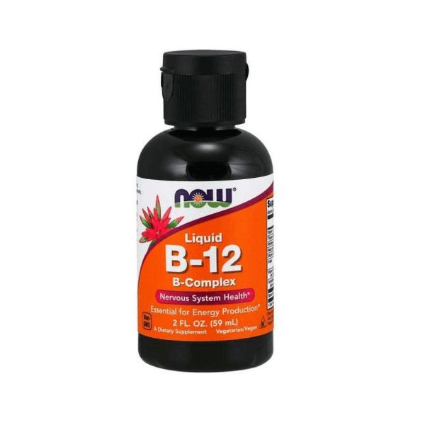 LIQUID B-12 (59ML) - NOW FOODS