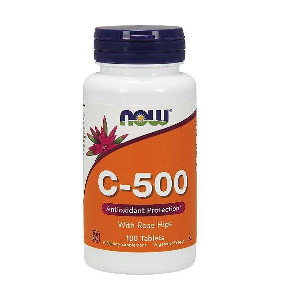 VITAMIN C-500 (100CAPS) - NOW FOODS