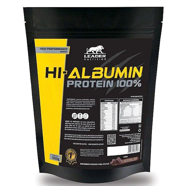 HI-ALBUMIN PROTEIN 100% (500G) LEADER NUTRITION