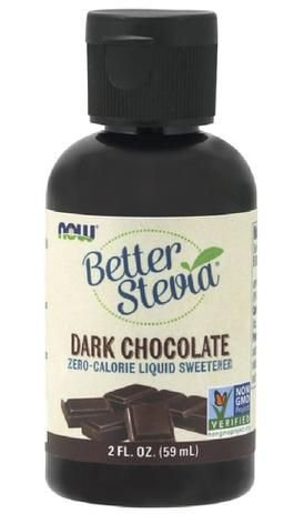 Better Stevia Organic (60ml) - Now Foods