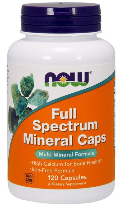Full Spectrum Minerals (120 caps) - Now Sports
