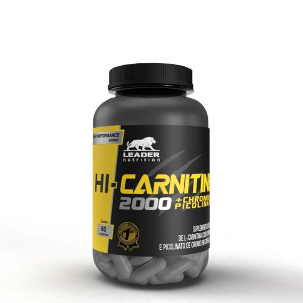 HI-CARNITINE 2000 + CHROMIUM PICOLINATE (60 CAPS) - LEADER NUTRITION
