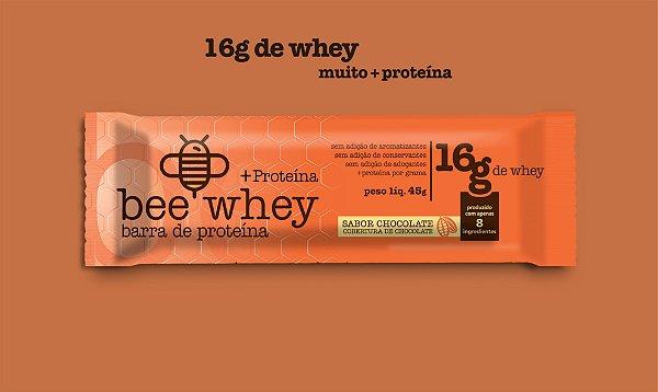bee Whey + Proteína (16g Whey) - Chocolate
