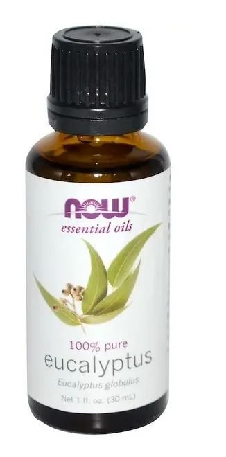 Óleo Essencial Eucalyptus NowFood - Eucalipto 30 Ml 100%puro