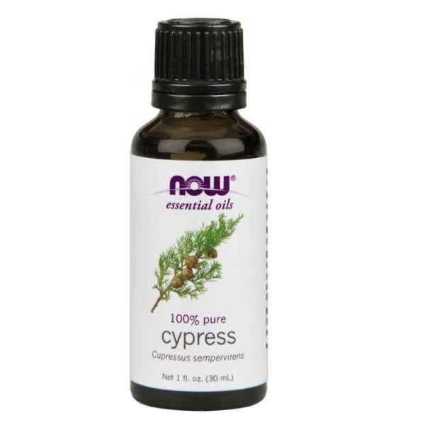 Óleo Essencial Cypress-cipreste 30 Ml - 100% Puro Now Foods