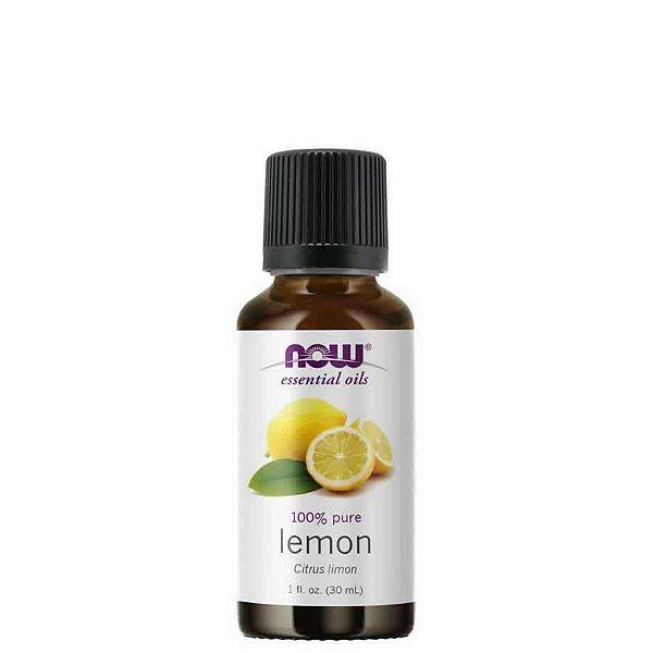 Óleo Essencial Lemon (Limão) 30 ml – 100% Puro – NOW FOODS