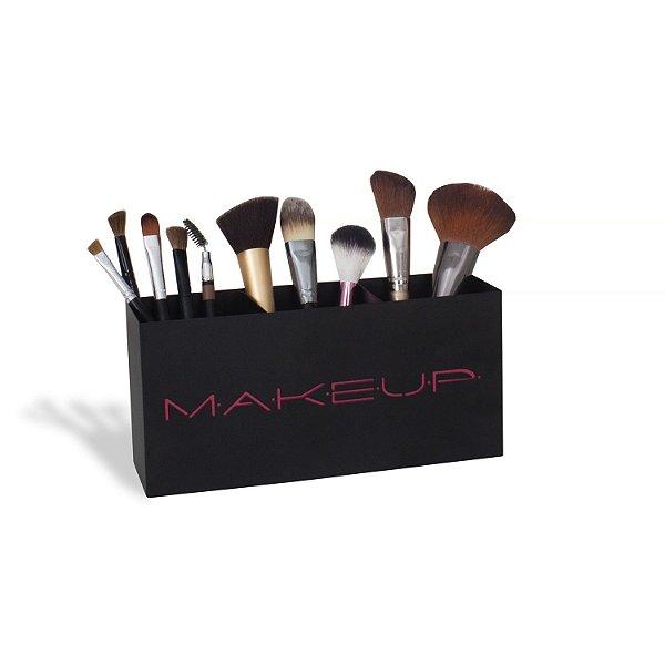 Porta Pincéis De Maquiagem Makeup Pink