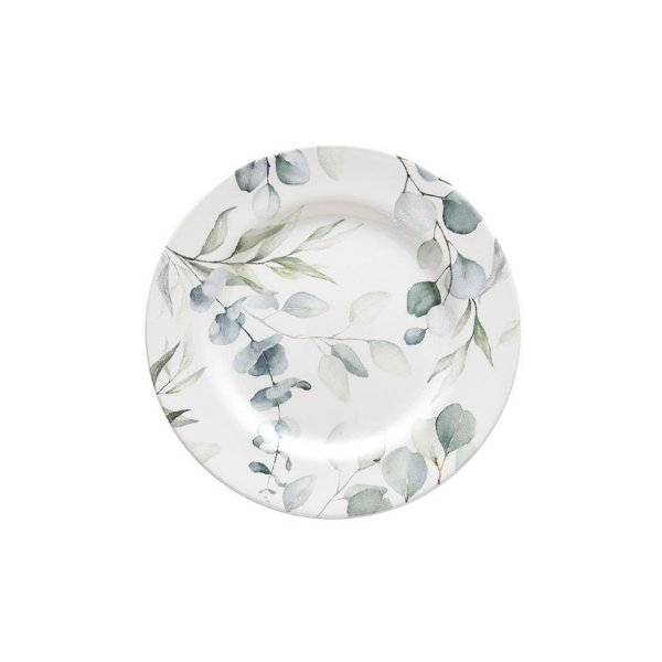 Conjunto de Pratos Sobremesa Eucalipto 20,5cm 6 peças