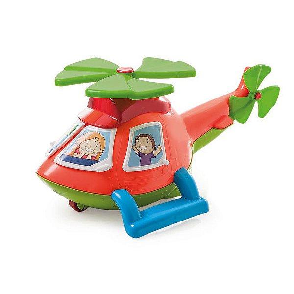 Brinquedo Didático Helicóptero Helico Tateti - Sacola