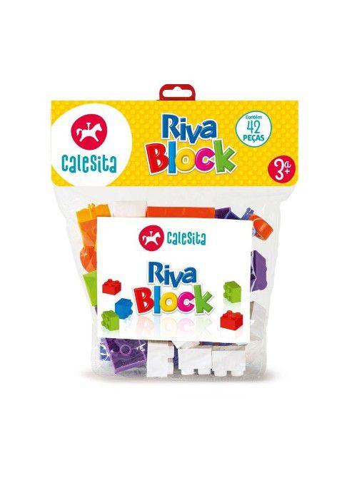 Riva Block 84 Peças Calesita