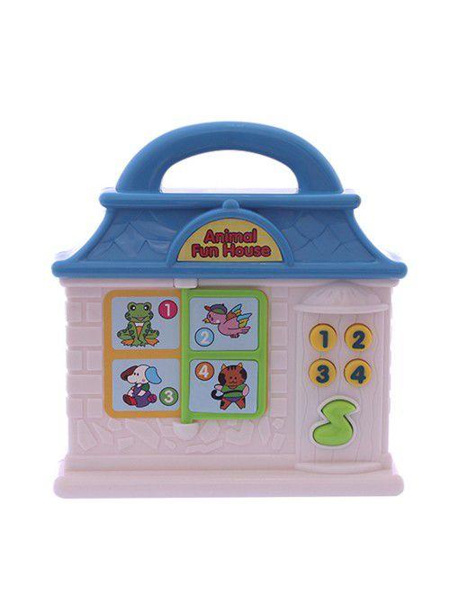 Bebê Musical Dican Casinha Azul