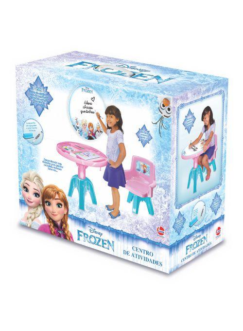 Centro de Atividades 3 em 1 da Frozen - Lider