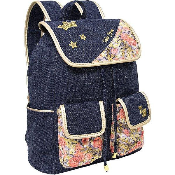 Mochila para Notebook Dolce Fiore Jeans - Tn Bolsas