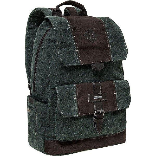 Mochila para Notebook New Side Verde - Tn Bolsas